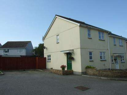 3 Bedrooms End Of Terrace House for sale in St. Columb Road, St. Columb, Cornwall