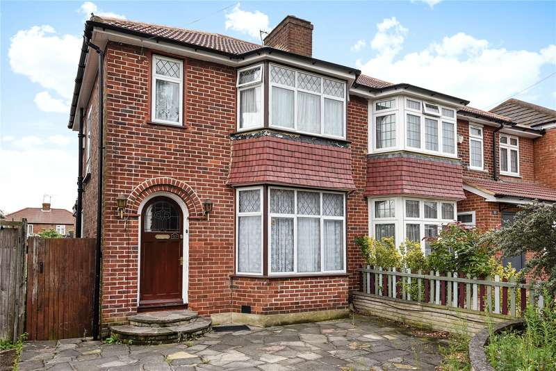 3 Bedrooms Semi Detached House for sale in Peareswood Gardens, Stanmore, Middlesex, HA7