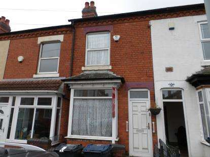 2 Bedrooms Terraced House for sale in Towyn Road, Moseley, Birmingham, West Midlands