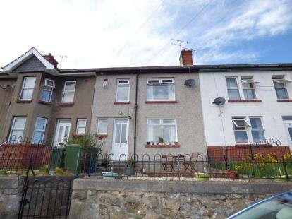 3 Bedrooms Terraced House for sale in Gardd Denman, Bangor, Gwynedd, LL57