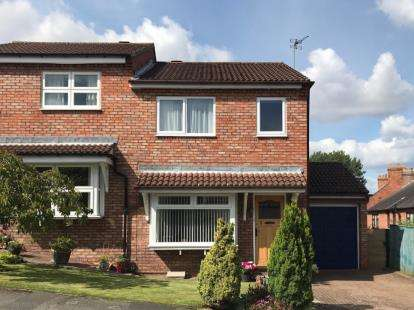 3 Bedrooms Semi Detached House for sale in Northfields, Hutton Rudby, Yarm