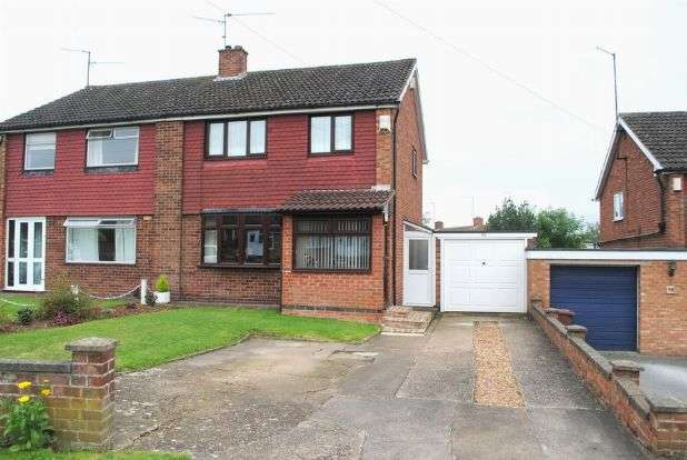 3 Bedrooms Semi Detached House for sale in Hinton Road, Kingsthorpe, Northampton NN2 8NG