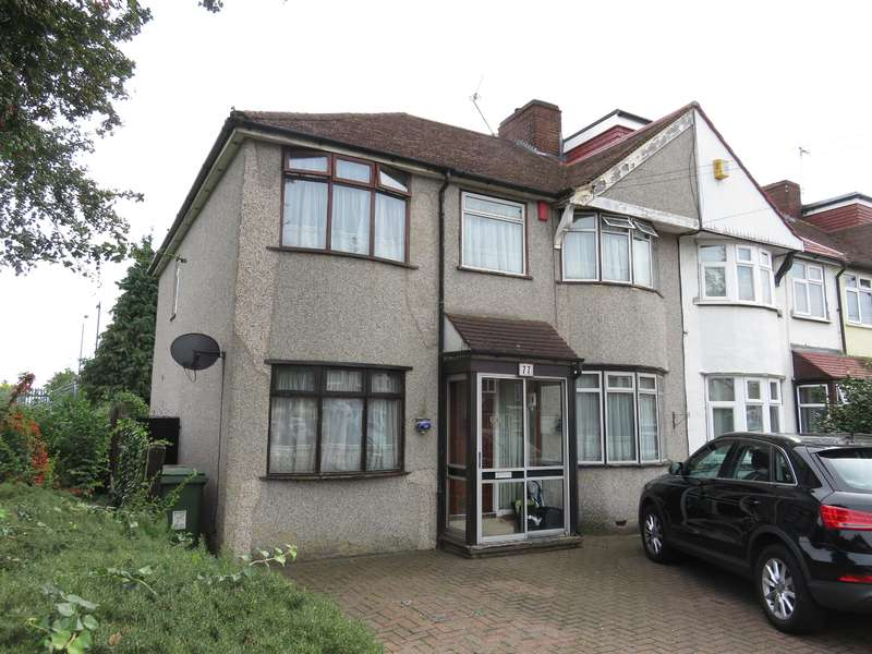 4 Bedrooms End Of Terrace House for sale in Montrose Avenue, Welling, Kent, DA16 2QT