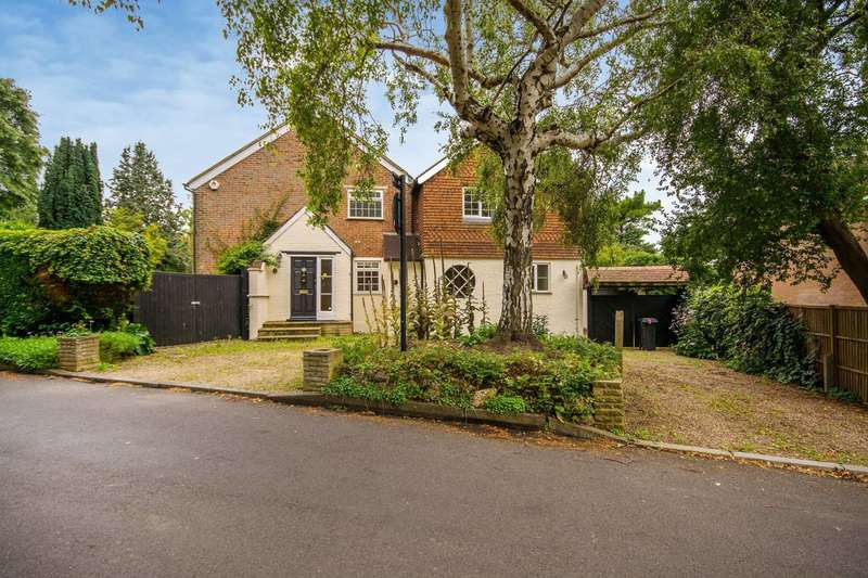5 Bedrooms Detached House for sale in Ewell Downs Road, Epsom, KT17