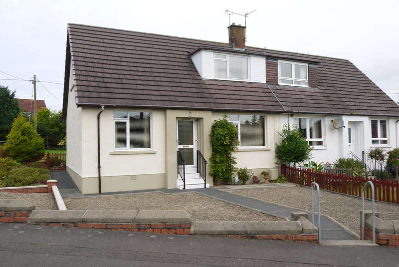 3 Bedrooms Semi Detached House for sale in Clement Terrace, Hollybush, Ayr, KA6