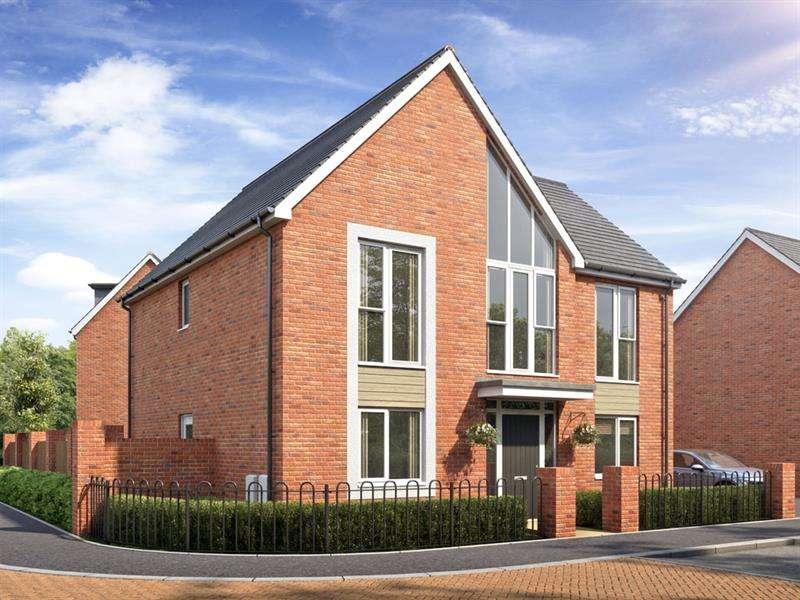 4 Bedrooms Detached House for sale in PLOT 80, PLOT 81 & PLOT 86, Cofton Grange, Cofton Hackett