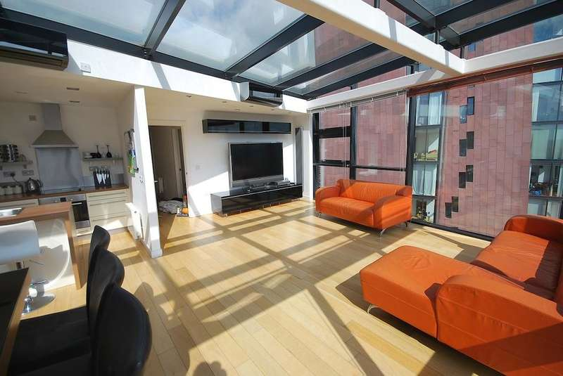 2 Bedrooms Penthouse Flat for rent in Great Ancoats Street, Manchester City Centre, M4 6DH