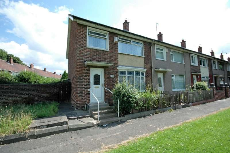 3 Bedrooms End Of Terrace House for sale in Amroth Green, Middlesbrough, North Yorkshire, TS3