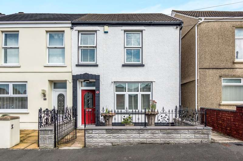 3 Bedrooms Semi Detached House for sale in Ffos Yr Efail Terrace, Pontarddulais, SWANSEA