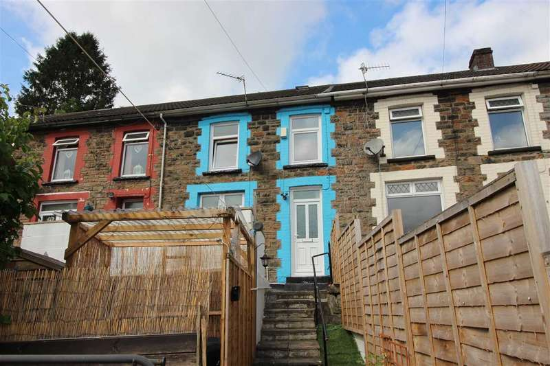 3 Bedrooms Terraced House for sale in Court Place, Tonypandy, Tonypandy