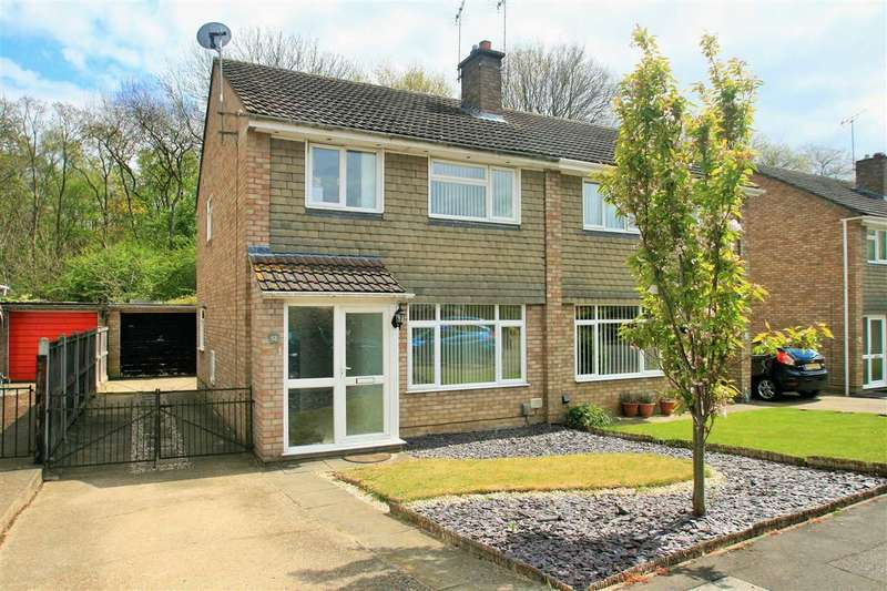 3 Bedrooms Semi Detached House for sale in Evergreen Drive, St. Johns, Colchester