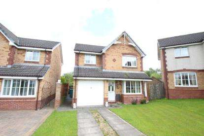 4 Bedrooms Detached House for sale in Elm Drive, Chapelhall, Airdrie, North Lanarkshire