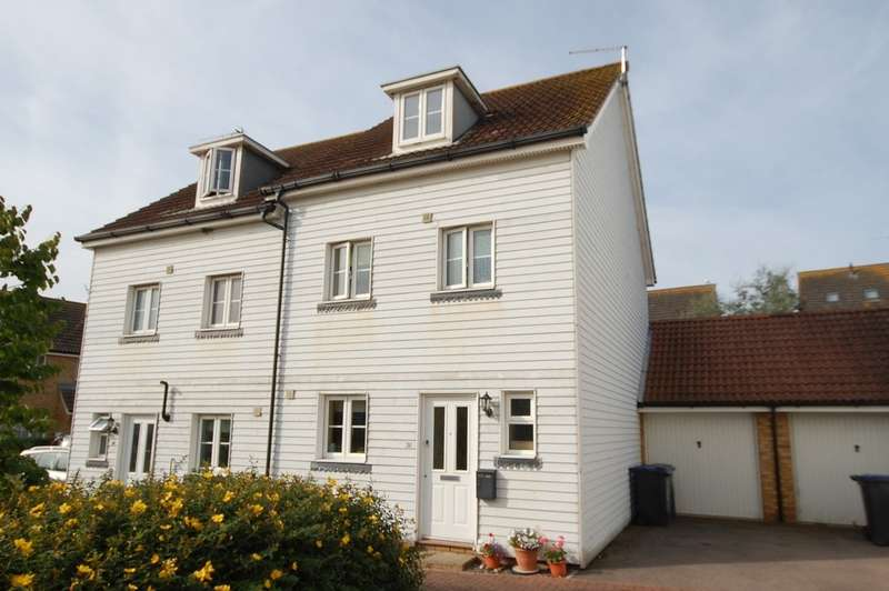 4 Bedrooms Town House for sale in Eversleigh Rise, Whitstable