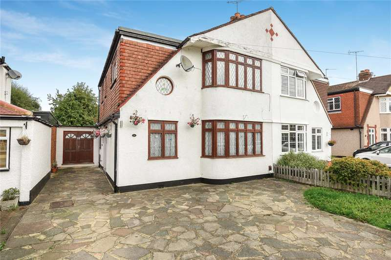 4 Bedrooms Semi Detached House for sale in Wimborne Drive, Pinner, Middlesex, HA5
