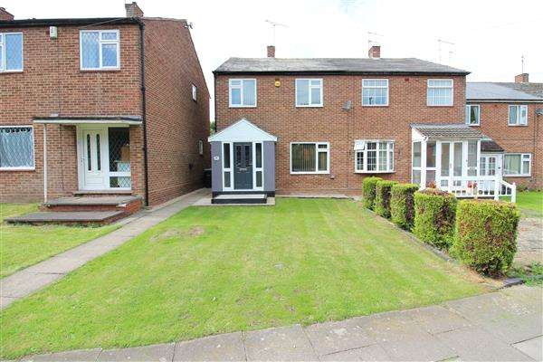3 Bedrooms Semi Detached House for sale in Black Prince Avenue, Cheylesmore, Coventry