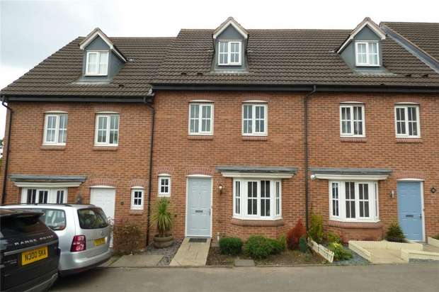 4 Bedrooms Terraced House for sale in The Evergreens, Nuneaton, Warwickshire