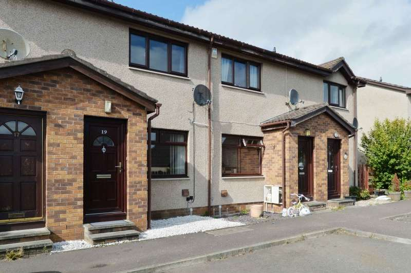 2 Bedrooms Terraced House for sale in Rose Gardens, Cairneyhill, Fife, KY12 8QS