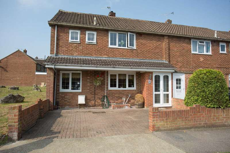 3 Bedrooms End Of Terrace House for sale in Silverweed Road, Walderslade