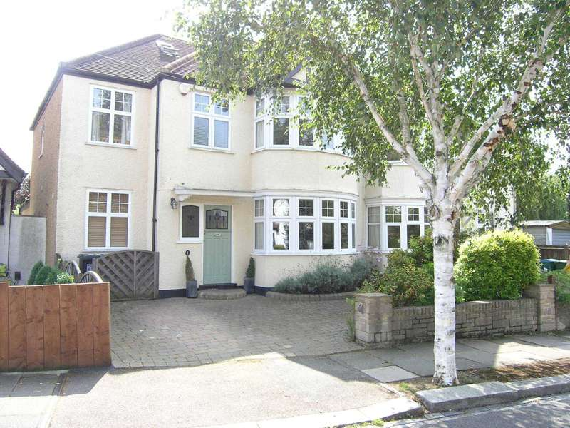 5 Bedrooms Semi Detached House for sale in Wilcot Avenue, Oxhey