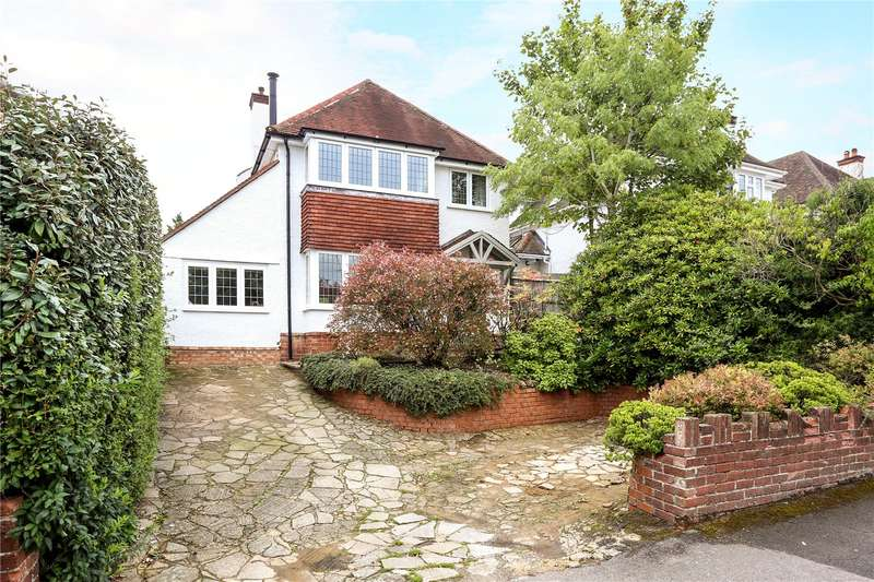 4 Bedrooms Detached House for sale in Weydon Hill Road, Farnham, Surrey, GU9