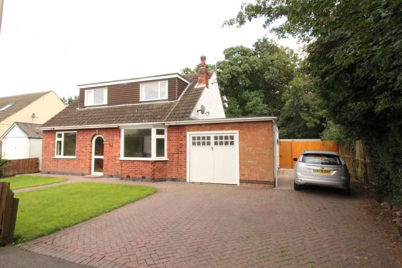 4 Bedrooms Detached Bungalow for sale in Grange Avenue, Leicester Forest East, Leicester, LE3