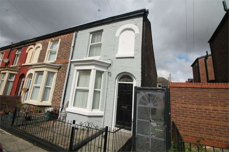 2 Bedrooms End Of Terrace House for sale in Viola Street, BOOTLE, Merseyside