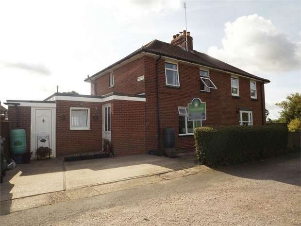 4 Bedrooms Semi Detached House for sale in Roman Way, Elvington, Dover, Kent