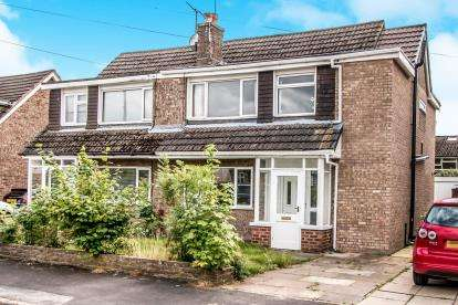 4 Bedrooms Semi Detached House for sale in Adlington Close, Timperley, Altrincham, Manchester