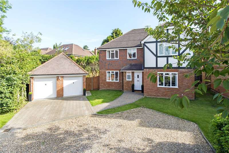 5 Bedrooms Detached House for sale in Lingfield Way, Nascot Wood, Watford, Hertfordshire, WD17