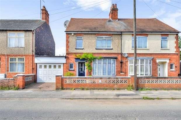 3 Bedrooms Semi Detached House for sale in Upper Queen Street, Rushden, Northamptonshire