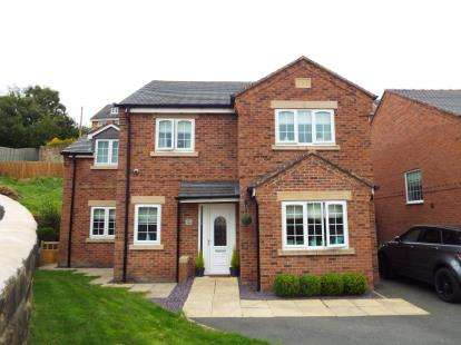 4 Bedrooms Detached House for sale in Francis Road, Moss, Wrexham, Wrecsam, LL11