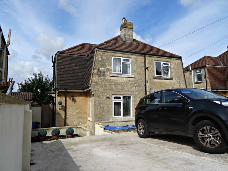 2 Bedrooms Semi Detached House for sale in Haycombe Drive, Bath