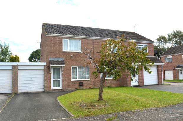 2 Bedrooms Semi Detached House for sale in Irvine Close, Taunton, Somerset