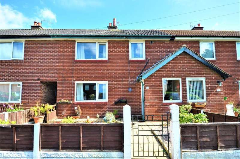 3 Bedrooms Terraced House for sale in Meadow Crescent, Wesham, Preston, Lancashire, PR4 3BB