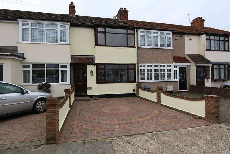 3 Bedrooms Terraced House for sale in Linley Crescent, Romford, Essex, RM7 8RB