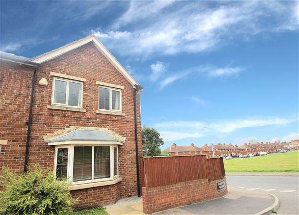 3 Bedrooms Semi Detached House for sale in Marguerite Gardens, Upton