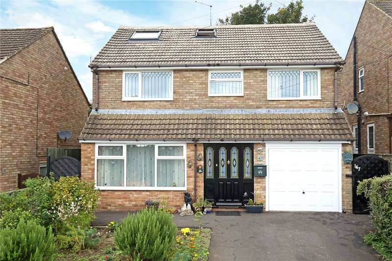 4 Bedrooms Detached House for sale in Bisley Road, Stroud, Gloucestershire, GL5