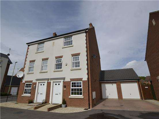 4 Bedrooms Semi Detached House for sale in Goose Bay Drive Kingsway, Quedgeley, GLOUCESTER, GL2 2EW