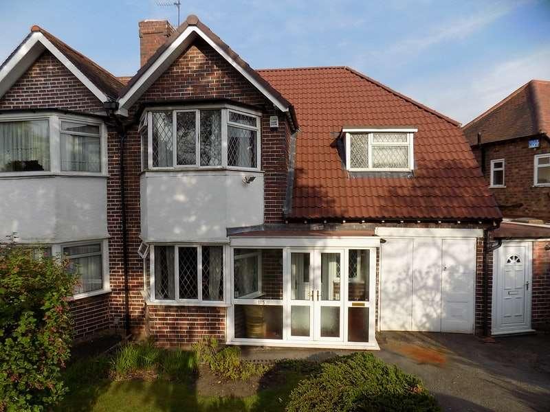 3 Bedrooms Semi Detached House for sale in gillhurst rd, birmingham, West Midlands, B17