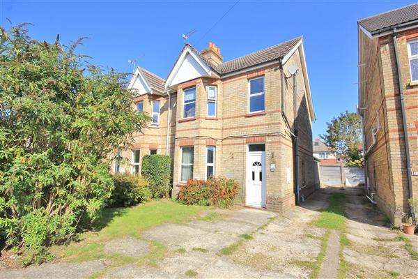3 Bedrooms Semi Detached House for sale in Belmont Road, Poole
