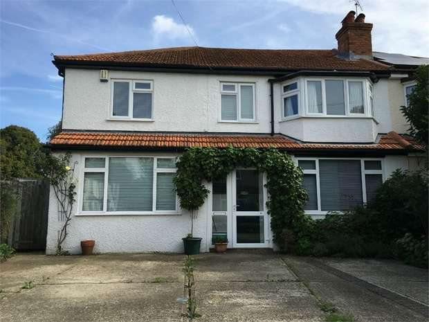 4 Bedrooms Semi Detached House for sale in Limecroft Close, Ewell