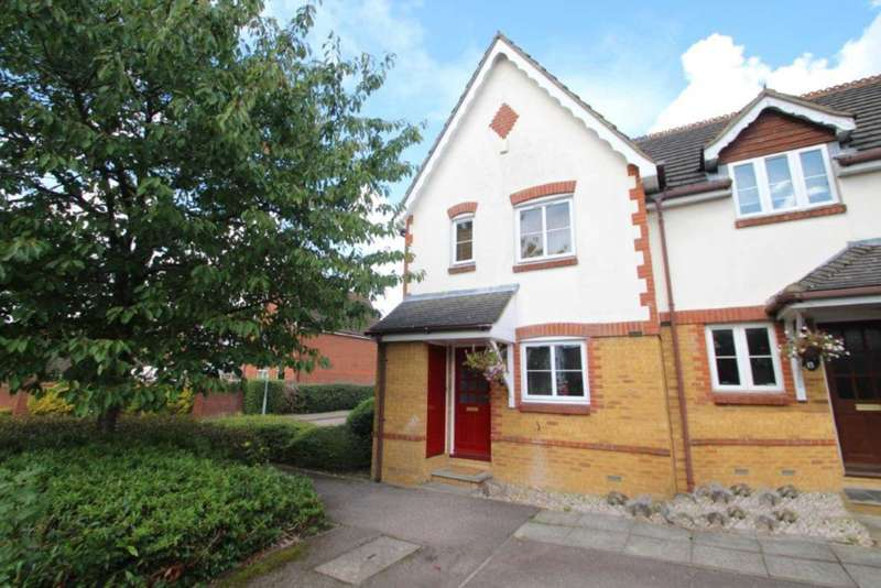 3 Bedrooms End Of Terrace House for sale in 3 BED END TERRACE WITH CONSERVATORY & GARAGE