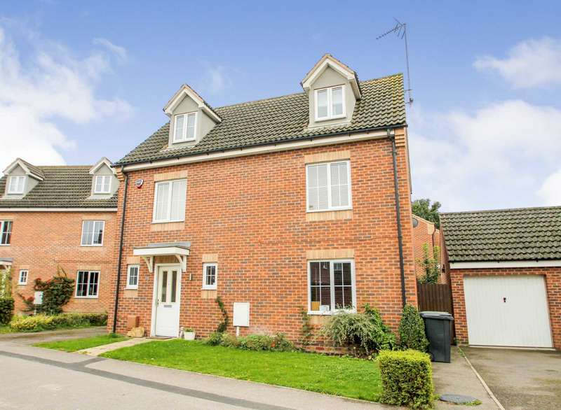 5 Bedrooms Detached House for sale in Maye Dicks Road, Rushden