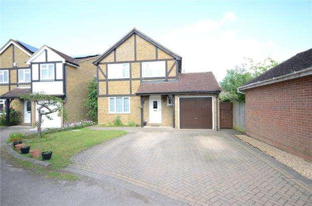 4 Bedrooms Detached House for sale in Wield Court, Lower Earley, Reading