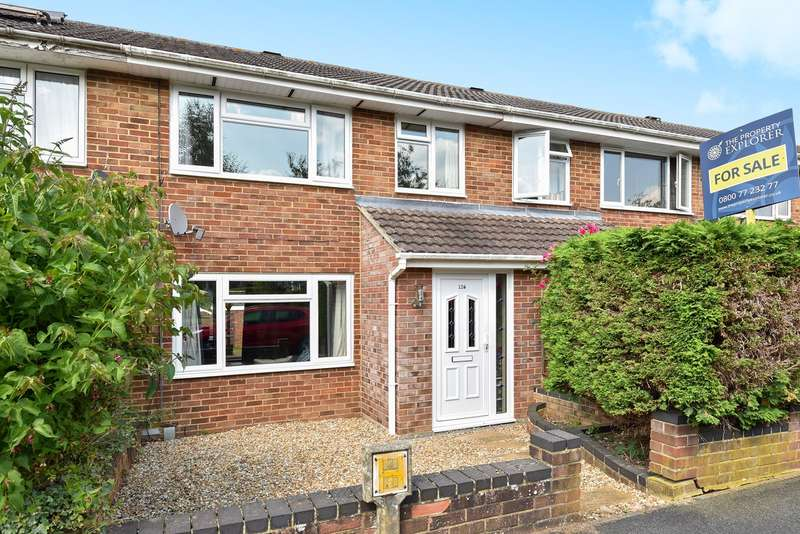 3 Bedrooms Terraced House for sale in Porter Road, Brighton Hill, Basingstoke, RG22
