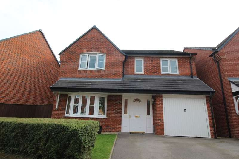 4 Bedrooms Detached House for sale in Dee Close, Hilton, Derby, DE65