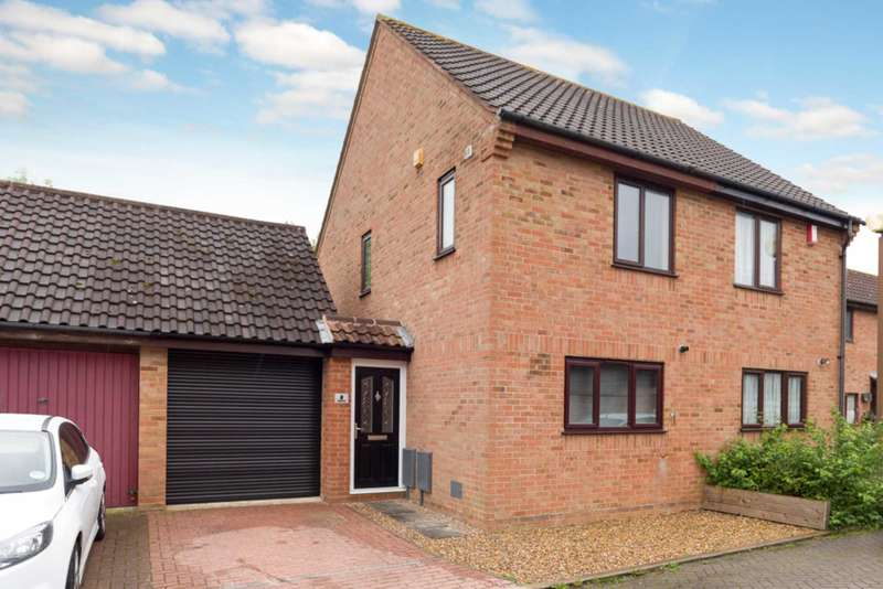 2 Bedrooms Semi Detached House for sale in Whichford, Giffard Park