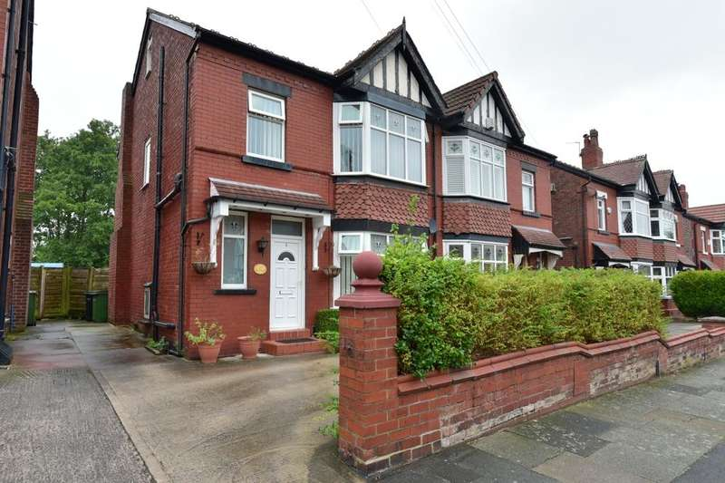 3 Bedrooms Semi Detached House for sale in Wellfield Road, Offerton, Stockport, SK2 6AS