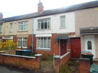 2 Bedrooms Terraced House for sale in Grant Road, Coventry