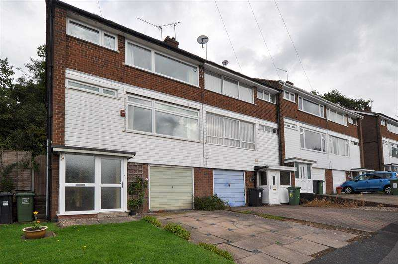 3 Bedrooms End Of Terrace House for sale in Ferney Hill Avenue, Redditch